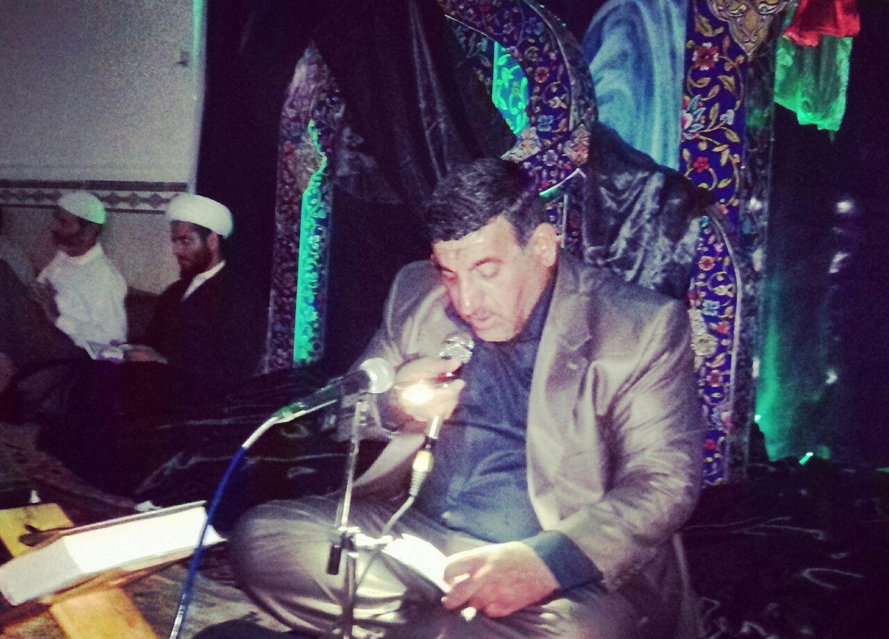 مراسم شب نوزدهم رمضان کاکی