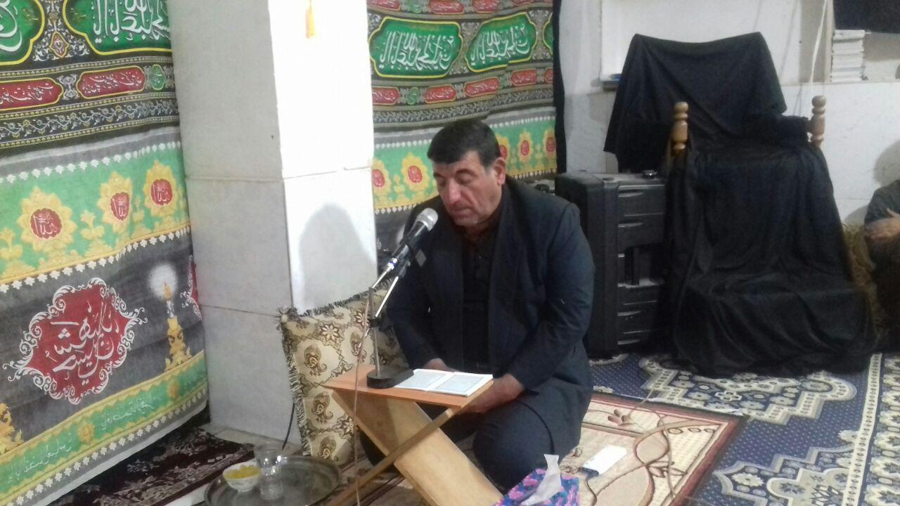 مراسم شهادت بی بی ام البنین  در حسینیه ابوالفضل العباس (حاج قاسم )